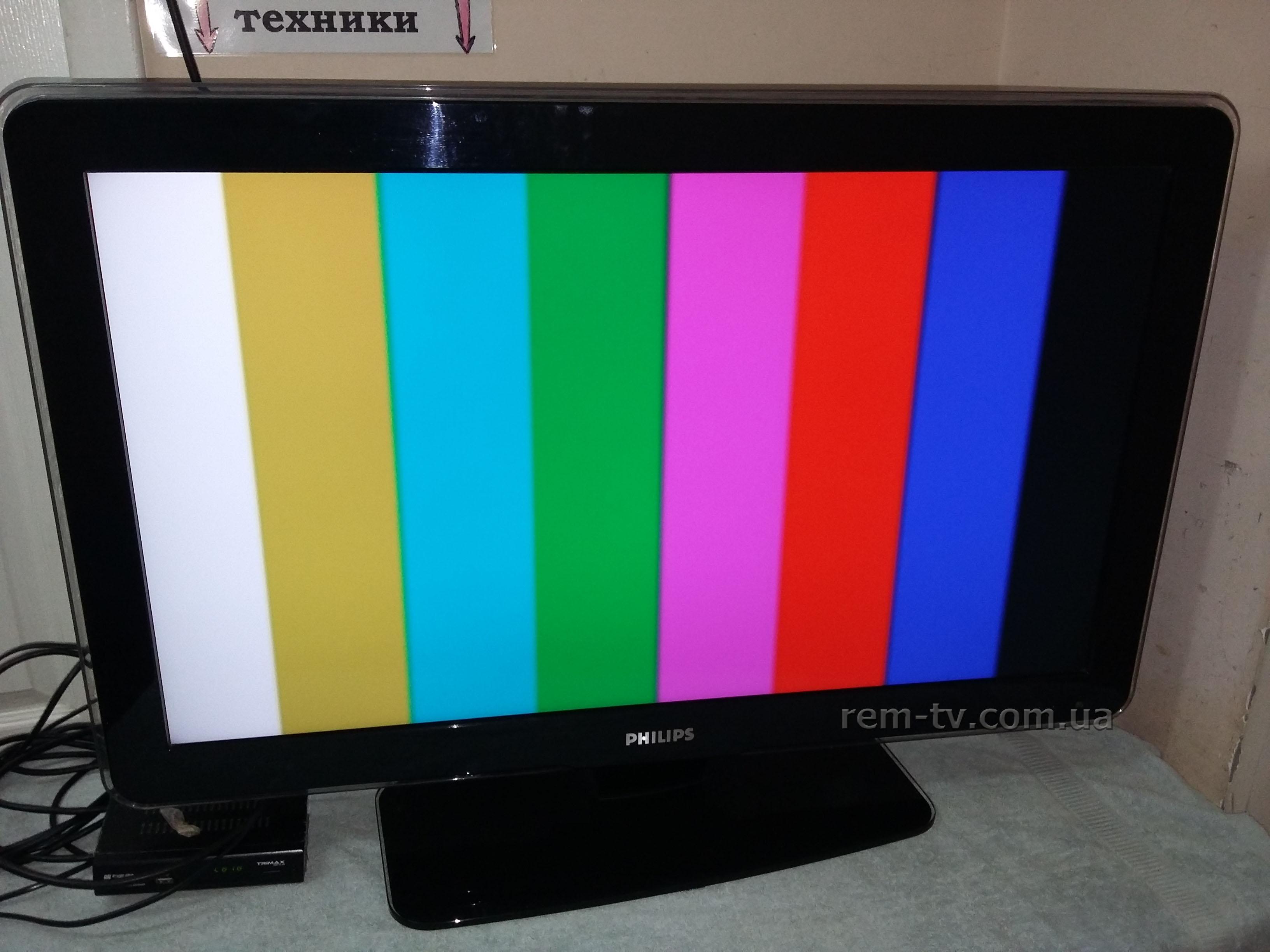 Телевизор Philips после ремонта