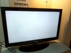 искажения цвета телевизора самсунг