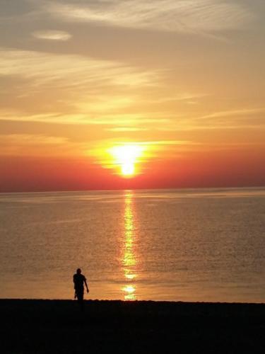 Восход над Средиземным морем